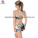 Uniforme Sublimated do líder da claque do desgaste da prática da dança do Cheerleading do estilo costume novo