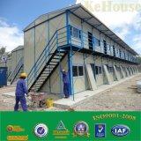 Estructura de acero de la luz de casa prefabricada para vivir/ prefabricados personalizado Estructura de acero de la luz de la construcción
