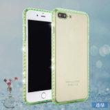 Defensor de diamantes de imitación Hybrid Cubierta para el iPhone 7 Más /8plus