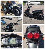 Potencia del músculo 2017 motocicleta eléctrica del EEC de la nueva 2000W