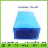Pack batterie personnalisé de la batterie au lithium 48V 18ah pour des véhicules électriques