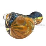 """Angry Birds- """"rojo fuego"""", Recipiente de la cabeza del tubo de vidrio de la mano (ES-HP-204)"""