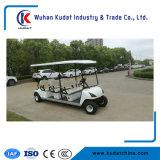 Ce 6 places 3kw parcours de golf chariot électrique avec toit