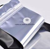 Refuerzo inferior de la lámina de aluminio bolsas de café con válvula