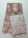 Мода и новый дизайн Handmake кружевной ткани