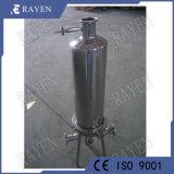 China Filtradores do filtro de arame de aço inoxidável do alojamento do filtro de PTFE