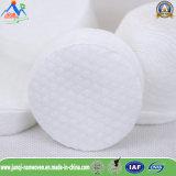 Almofadas de algodão de limpeza não irritantes