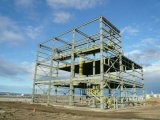 Casa material de acero de las mercancías de la estructura del uso del taller del hotel del chalet
