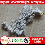 Lumière cotée de chaîne de caractères de décoration de Noël d'UL avec la garantie de 2 ans