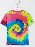 형식 소녀의 코끼리 다채로운 인쇄된 t-셔츠