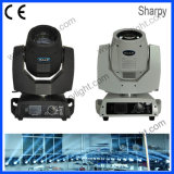 LED Sharpy DJ 가벼운 230W 광속 디스코 또는 클럽 이동하는 헤드