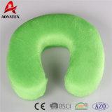 100% polyester Super Douce Mousse à mémoire de coussin de forme de U