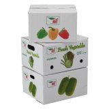 De tamaño personalizado de Apple el paquete de cartón ondulado de frutas Caja con ventana