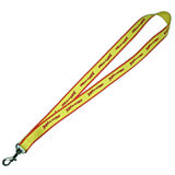 Cuerda de poliéster de 20 mm de ancho con clip de metal