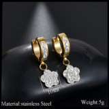 Les femmes Bijoux Cadeaux Silver Wedding Earring bijoux de mode de diamant