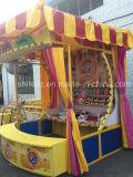 Cabina dei giochi di carnevale del parco di divertimenti del ciclo di Hula della manovella