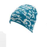 نساء [منس] [أونيسإكس] [2-ست] شتاء دافئ [بني] حرف طباعة وشاح قبعة وشاح محدّد ([سك135س])