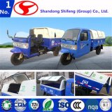 O transporte/carga ambientais do triciclo da série do veículo do saneamento/carreg para o reboque de Carbage do veículo com rodas de 500kg -3tons três