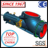 Bomba de propulsor química horizontal y vertical del codo del flujo axial SS304