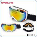 Lunettes antibrouillard de ski de sport en plein air de visibilité de la vente HD de lunettes de Snowboard
