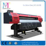 1.8 Impresora de inyección de tinta solvente de la impresora de Eco de los contadores con la cabeza de impresión de Ricoh para la bandera Mt-1802dr del vinilo
