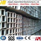 Door buizen leiden van het Staal van de Productie van de Pijp van het staal dik ommuurd het Gegalvaniseerde Vierkante