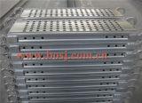 Het Geval van de trede voor het Staal die van de Steiger de Fabriek van de Machine bouwen Rollformer