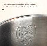 Camada dupla 304 Grad comida de plástico e aço inoxidável Jarro eléctrico