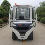 Carretilla elevadora diesel del precio de fábrica 4ton con la tecnología de Tcm de la cabina hecha en China