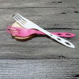 BPI de nuevo plástico certificado cuchillería biodegradable y abonable del 100% del estilo del PLA