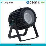 屋外60W RGBW LEDの段階の照明ズームレンズLEDの同価ライト