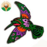 Mayorista de ropa personalizada decoración Esmalte Duro insignia metálica