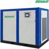 8 - 10 bar estilo lubricado compresor de aire de tornillo rotativo con Accionamiento de Velocidad Variable