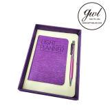 1. De laagste Prijs personaliseerde het MiniNotitieboekje van het Punt van Weggevertjes met Pen in Vastgestelde Giften