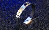 2017 nuovo modo Brown e braccialetti di cuoio neri dei braccialetti dell'unità di elaborazione per i retro braccialetti trasversali di fascino delle donne e degli uomini