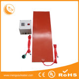 Elemento de aquecimento da película grossa do calefator da borracha de silicone