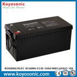 Батарея UPS горячего хранения AGM сбывания 12V 200ah VRLA свинцовокислотная