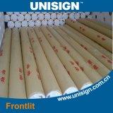 bandiera laminata calda o fredda Rolls di 230GSM-610GSM del PVC della flessione di Frontlit per stampa solvibile