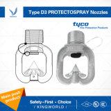 Pijpen van de Nevel van de Snelheid van Protectospray van het Type van Tyco D3 de Middelgrote Richting