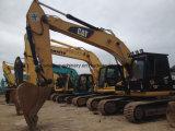 Excavador usado 320c 320b de la oruga del excavador de la correa eslabonada del gato 320d