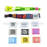 Bracelet tissé par tissu pour des événements/bracelet de festival/bracelet tissé