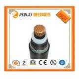 직류 전기를 통한 (강철 스테인리스 의 Monel) 강철 테이프 기갑 둥글거나 편평한 잠수할 수 있는 펌프 고압선 특히 케이블