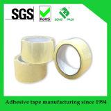 Bande de empaquetage d'emballage BOPP de bande adhésive claire de cachetage de la qualité