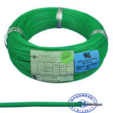 600V 105c UL1213 TEFLON PTFE trenzado de alambre de plata