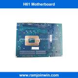 Горячая продавая DDR3 материнская плата набора микросхем LGA1155 памяти H61 для настольный компьютер