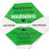 De Monitor van de Schok van het Etiket van Shockaction 25g gevoelig in het Verschepen