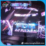 Schermo di visualizzazione esterno locativo pieno del LED di colore P6 di HD
