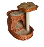 Novo Design de Produto Pet, Escalada Willow Cat Scratcher Tree