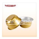 Leistungsfähiges fettdichtes Aluminiumfolie-Pudding-Kuchen-Wegwerfcup