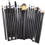 20 pcs ensemble de la brosse de Maquillage professionnel Fondation Kabuki mélange synthétique Blush Concealer Crème Visage de l'oeil Liquide Poudre cosmétiques PINCEAU À LÈVRES ESG10206